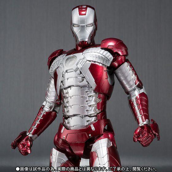 S.H.Figuarts 鋼鐵人2【鋼鐵人馬克5】Iron Man Mark V アイアンマン マーク5