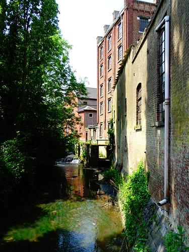 Ancien moulin à Oleye