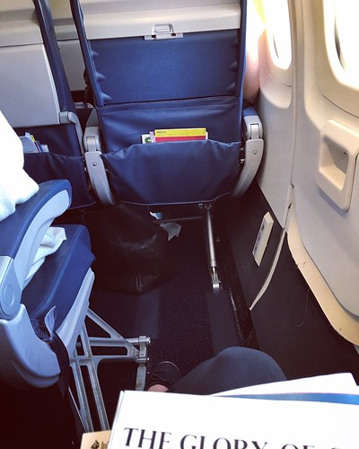 First class leg room in the cheap seats