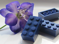 Lego BASF bluish violet - slightly milky