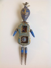 Reliquary Bird Doll