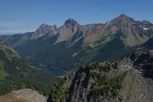 Border Peaks and Larrabee