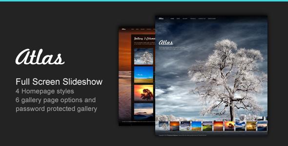 Atlas v2.4 - For Photography Creative Portfolio
