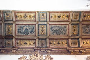 Paneled wood vault