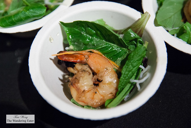 Shrimp noodle salad by Mooncake Foods