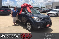 #HappyBirthday to Kelly from Dennis Celespara at Westside Kia!