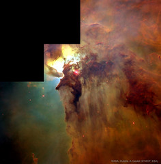In the Center of the Lagoon Nebula