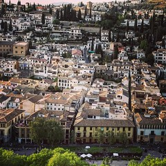 Roofs of Granada city! Spain