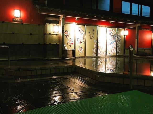 月の湯。スーパー銭湯。朝7:30まで空いてる。助かる〜(๑˃̵ᴗ˂̵) #月の湯 #博多の森湯処月の湯 #そろそろ横になりたい