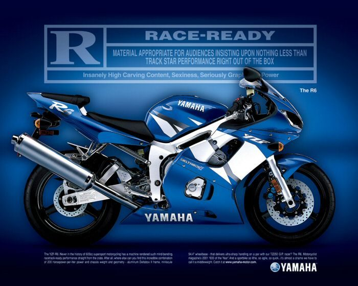 Yamaha YZF-R6 600 2002 - 6