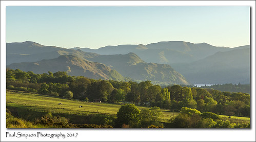 mountains hills rural paulsimpsonphotography nature imagesof imageof sonya77 iconicview ullswater lakedistrict cumbria trees farmland may2017 bluesky england viewsof britain lakeland ruralbritian