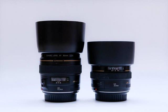 lens 50 va 85