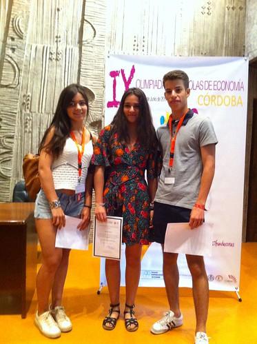 Alumnos ganadores Fase Nacional Olimpiada Economía 2017