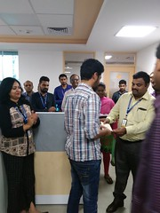 Vee Technologies Rewards and Recognition and Birthday Celebration June-2017 at RR-Nagar Bangalore