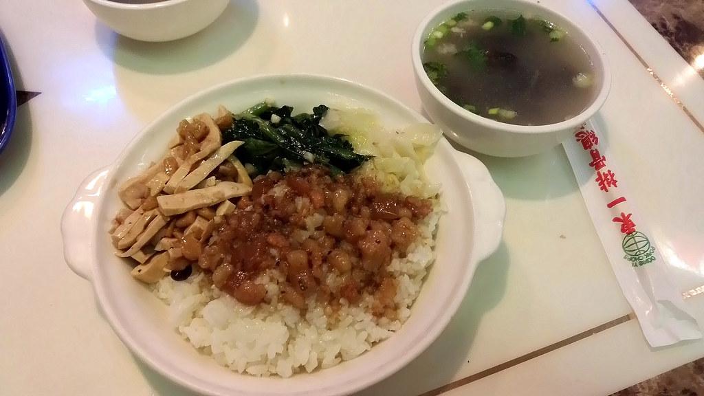 東一排骨-菜飯 2014-10-04