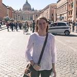 Emily in Vatican City