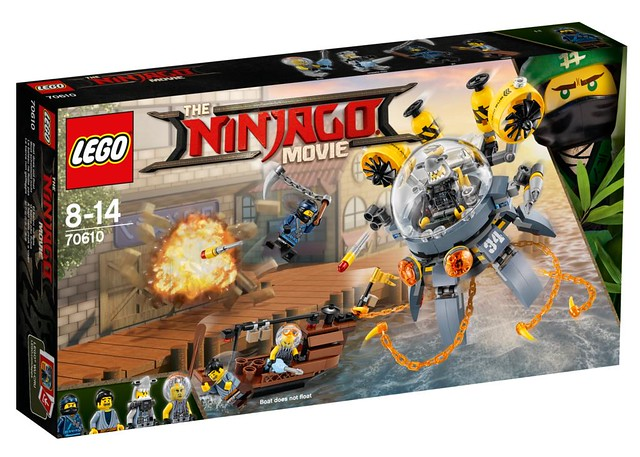 The LEGO Ninjago Movie 70610 1