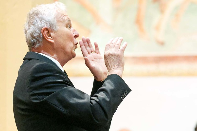 2017 Koncert ob 70 letnici dirigenta Karla Leskovca - foto Uroš Zagožen