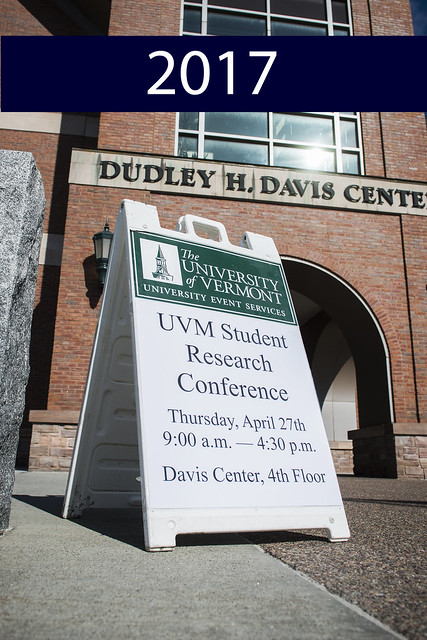 2017 UVM Student Research Conference
