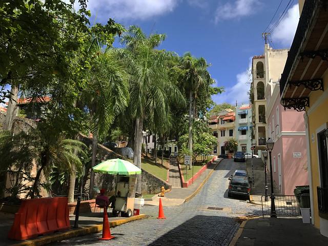 Streets at Old San Juan, Puerto Rico