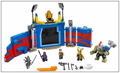 LEGO Marvel Super Heroes 76088 Thor vs. Hulk Arena Clash 00