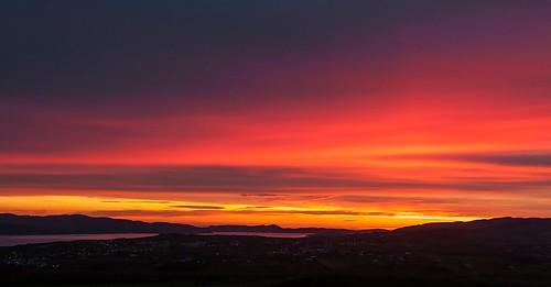 sunset sunsetdonegal sunsetloughswilly buncrana donegal ireland inishowen inexplore explored silhouette