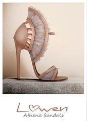 Lowen - Athena Sandals @Tres Chic - Grecian