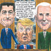 Ryan-Trump-Pence Cartoon