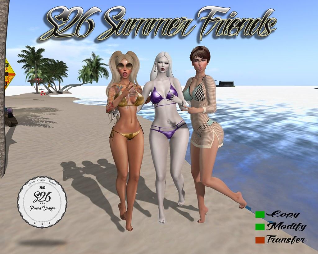 *** NEW *** s26 summer friends - SecondLifeHub.com