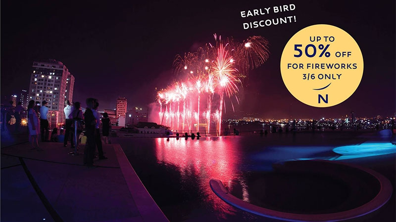 Up to 50% EARLY BIRD DISCOUNT at Novotel Danang Premier Han River 2