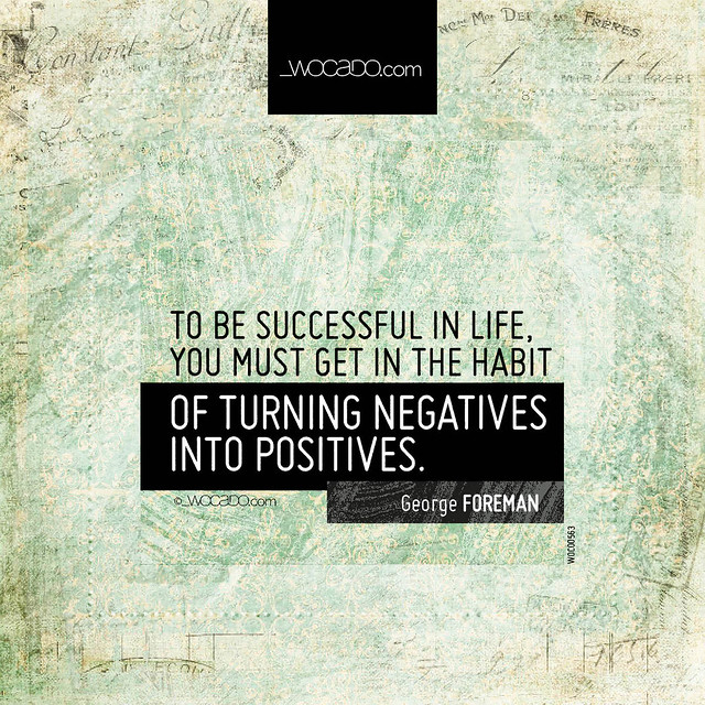 To be successful in life by WOCADO.com