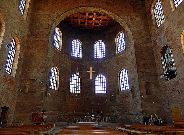 Trier. Konstantinbasilika. Kirche zum, Nikon COOLPIX S9500