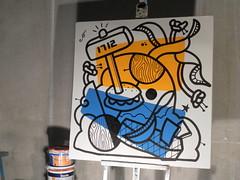 ottograph amsterdam painting 1 #ottograph @drawing