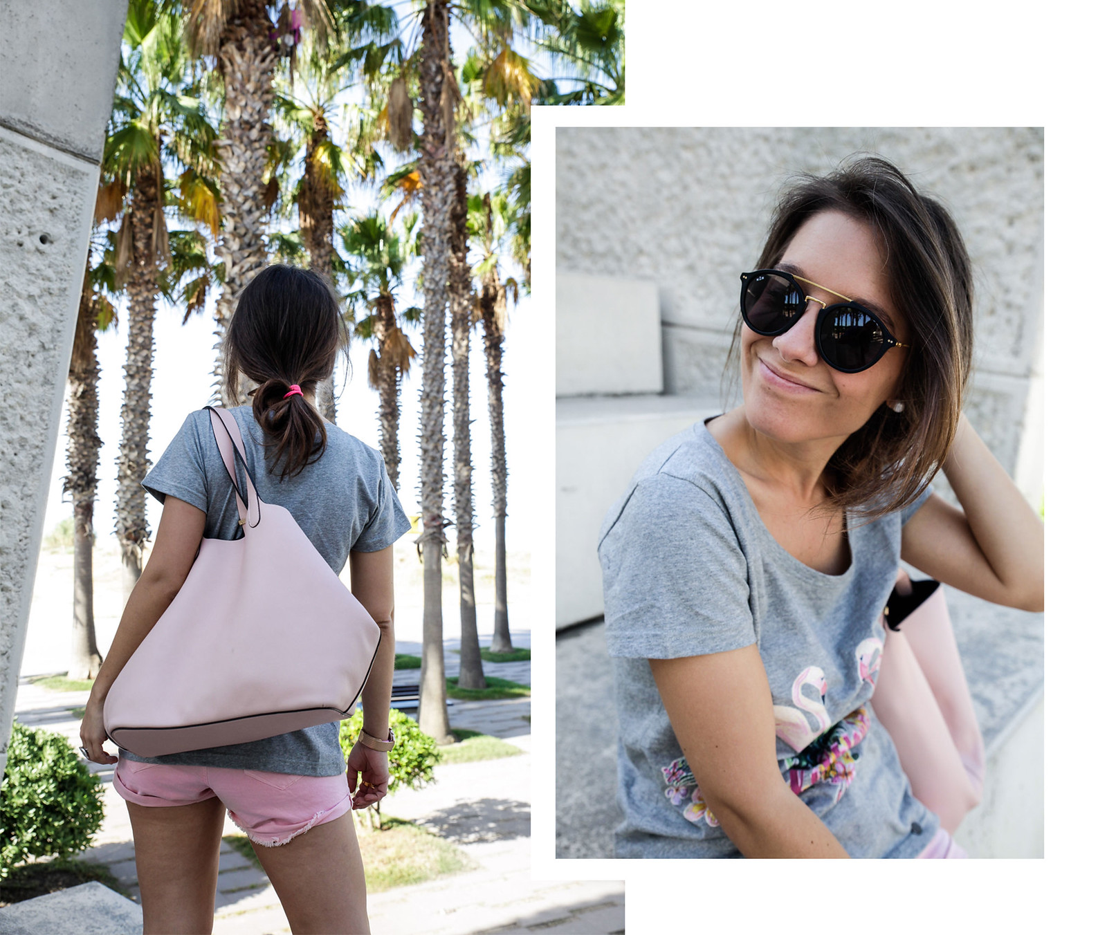 05_California_girl_rüga_shirt_flamingos_theguestgirl_LA_Barcelona_beach