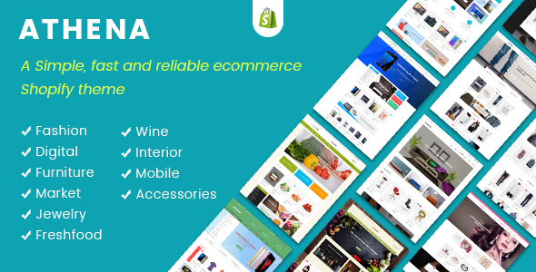 JMS Athena v1.0 - Ultimate Multipurpose Responsive Shopify Theme