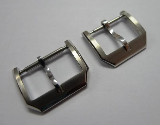16 & 18mm SUS316 IWC Style buckle