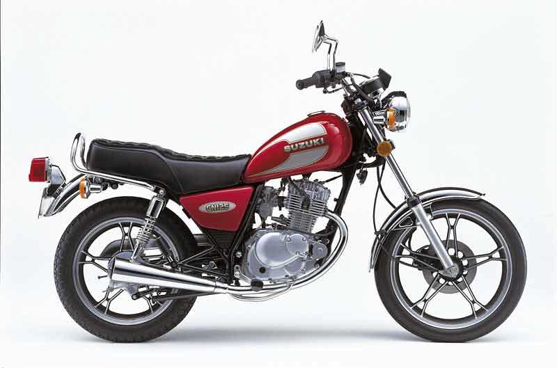 Suzuki 125 GN 1987 - 2