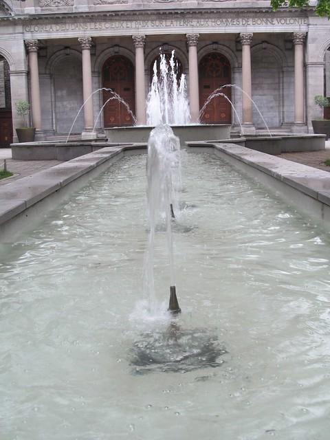 Parc Lahaie fountain