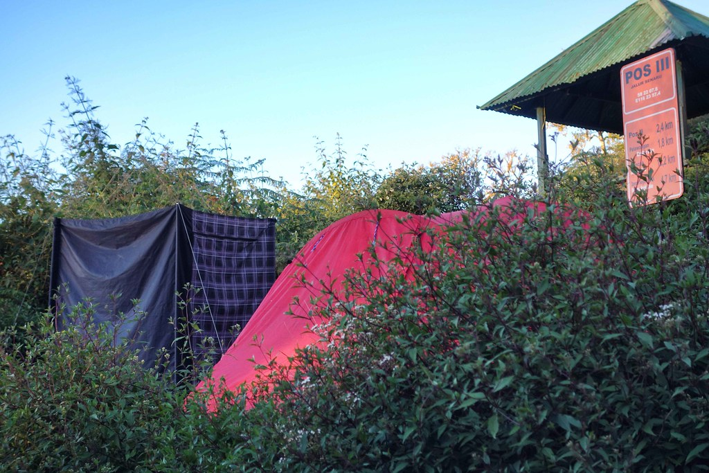 Rinjani - Jour 3 - Camp