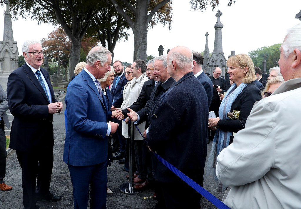 Royal Visit to Glasnevin Cemetery
