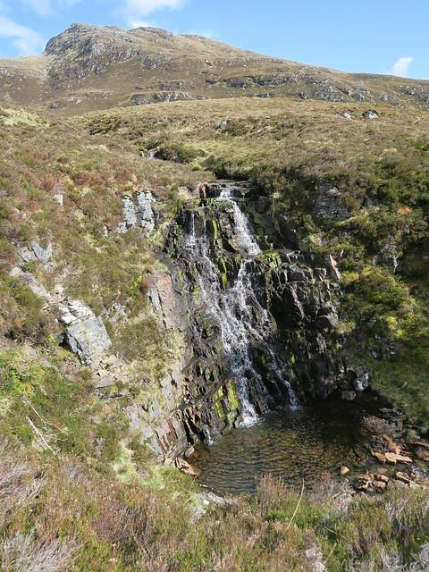 Waterfall on way down, Canon POWERSHOT G5 X