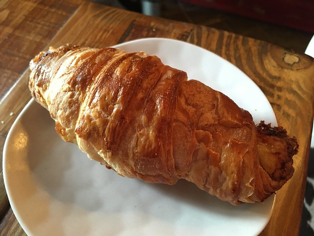 Ham and cheese croissant - Bayou Bakery
