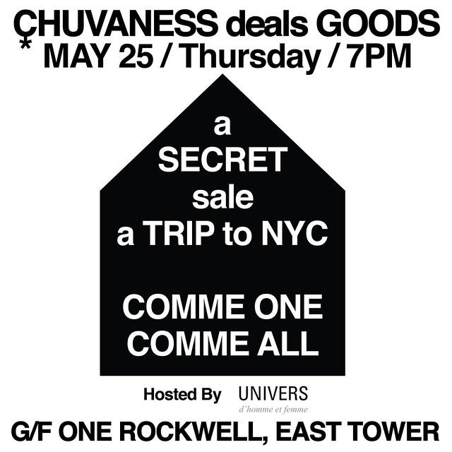 CHUVANEsS deals goods