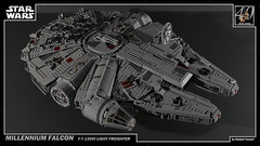 LEGO Star Wars - Millennium Falcon 1 4K