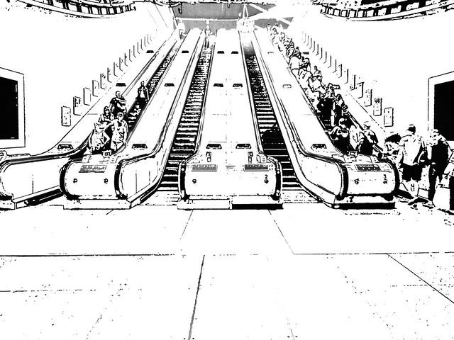 North Greenwich Escalators, Panasonic DMC-FZ70