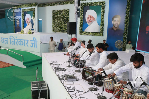 Devotional song by Sadh Sangat, Ludhiana, Punjab