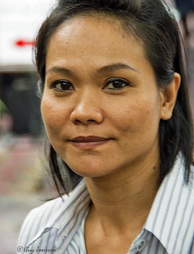 Girl in Bangkok