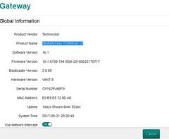 MediaAccess TG589vac v2 dns gateway