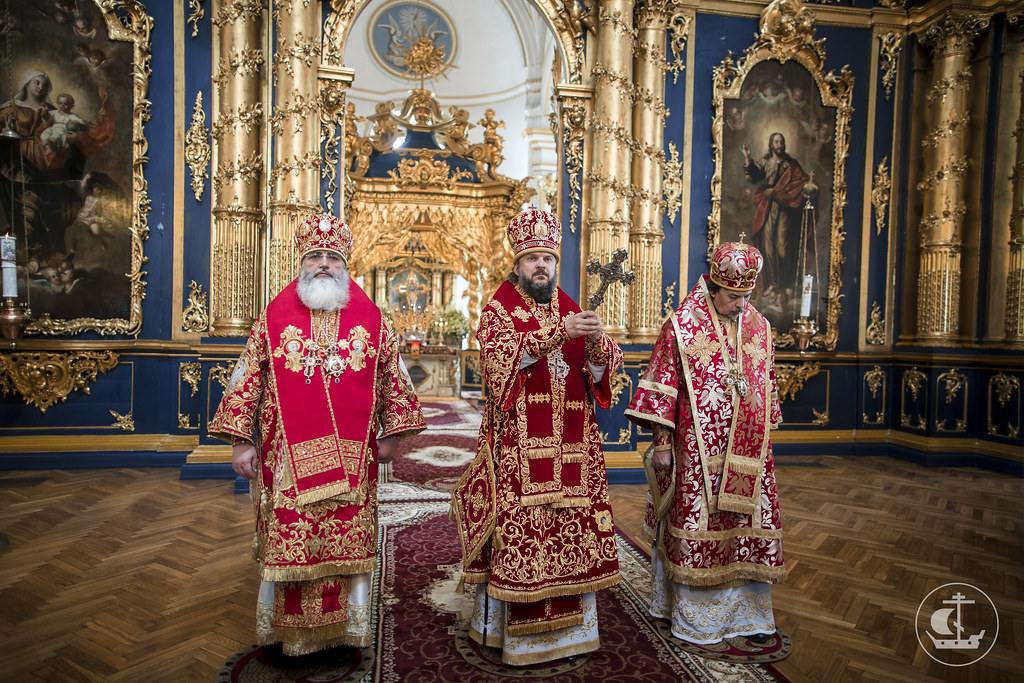 22 мая 2017, Литургия в Николо-Богоявленском морском соборе / 22 May 2017, Divine Liturgy in the St. Nicholas Naval Cathedral