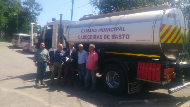 Câmara Municipal comprou camião cisterna para transporte de água potável